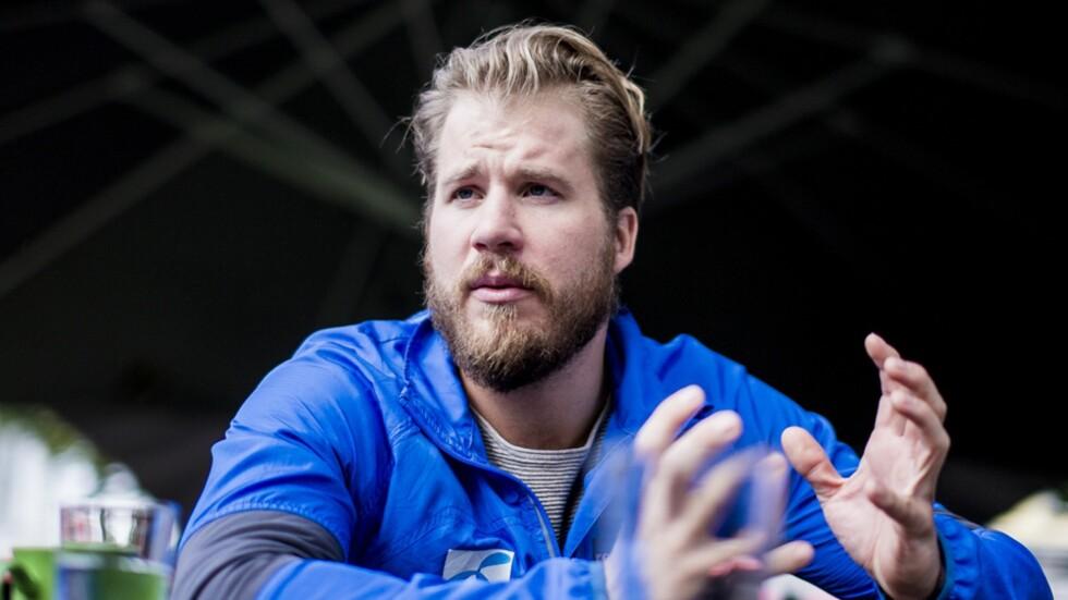 OVER GJENNOMSNITTET AKTIV SOM BARN: Kjetil Jansrud forteller at han selv ikke så sammenhengen mellom prestasjoner og et godt kosthold før han ble eldre.  Foto: Erlend Daae NTB Scanpix