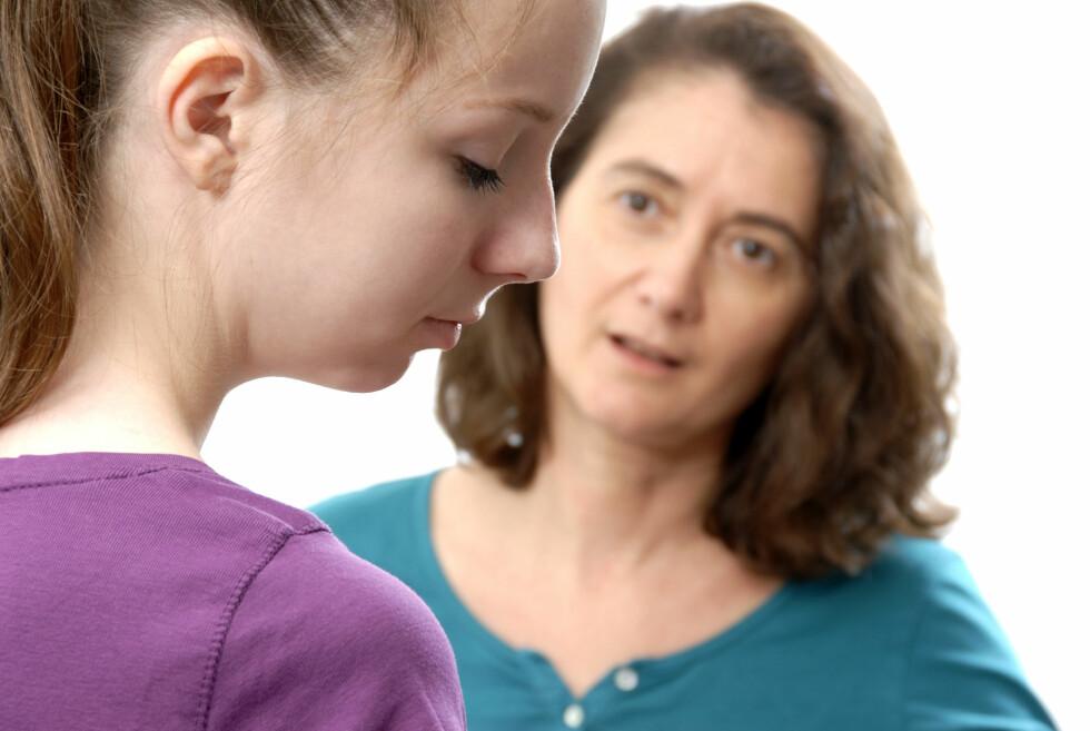MISTER BESINNELSEN: 27% av alle foreldre i undersøkelsen opplevde å miste besinnelsen ovenfor barnet.  Foto: NTB/Scanpix