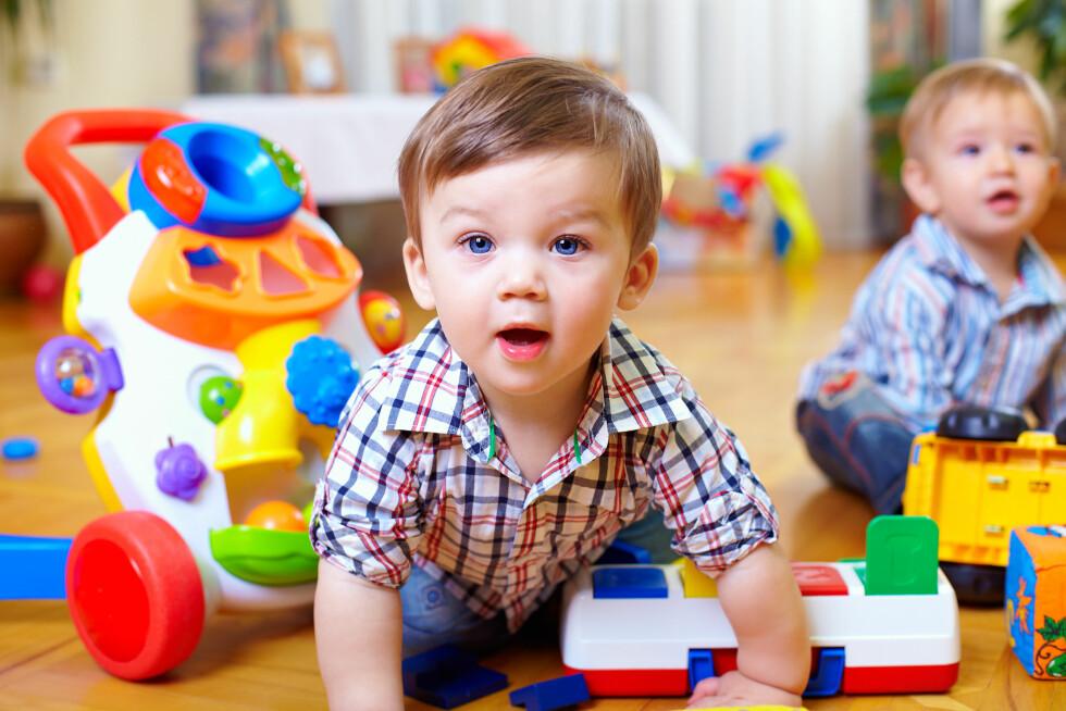 TEGN: Tidlig språk og velutviklet ordforråd er et tegn på et evnerikt barn.  Foto: NTB Scanpix