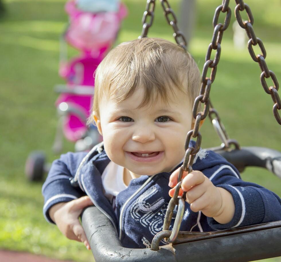 IKKE HA DÅRLIG SAMVITTIGHET: Barnehagene gjør sitt ytterste for at barnet ditt skal ha det bra mens du er på jobb. Foto: NTB Scanpix