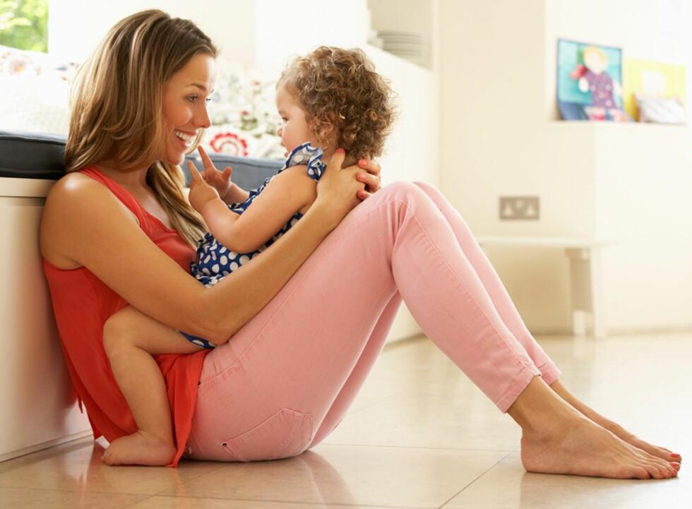 BRUK TID SAMMEN: Barnet ditt vil kunne trenge litt ekstra oppmerksomhet fra deg den første tiden i barnehagen.  Foto: NTB Scanpix