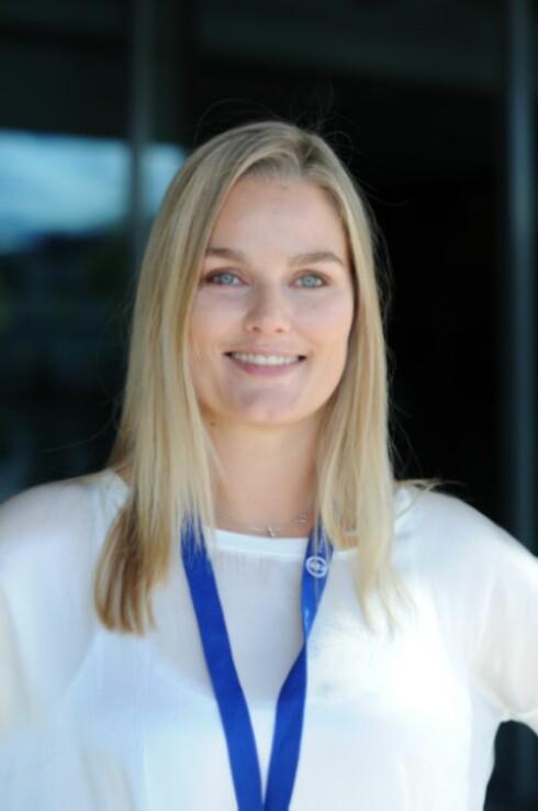 Hanne Schjelderup-Eriksen, leder i Jordmorforbundet Foto: Jordmorforbundet