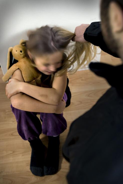 Barn som opplever vold kan ofte ha ren utrygg tilknytningsstil.  Foto: NTB/Scanpix
