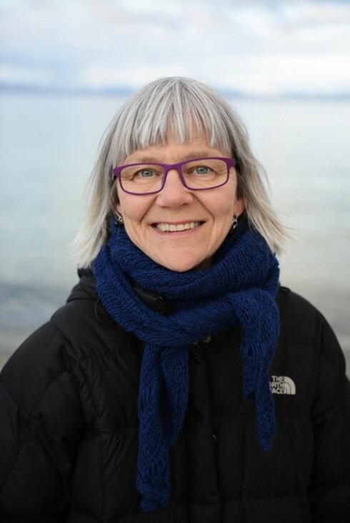 SAMLET DATA OM NORSKE HJEMMEFØDSLER: Professor Ellen Blix ved Høgskolen i Oslo og Akershus  Foto: Sonja Balci / HiOA