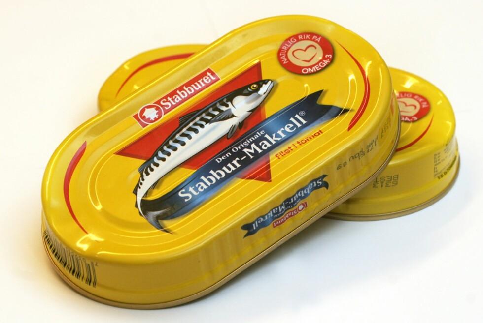 SPISER IKKE NOK MATVARER MED JOD: Makrell i tomat, melk, brunost og egg er gode kilder til jod i kostholdet vårt. Foto: NTB Scanpix