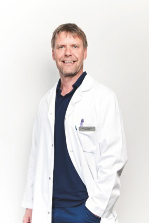 Fertilitetslege og klinikksjef Jon Hausken ved Klinikk Hausken. Foto: Klinikk Hausken