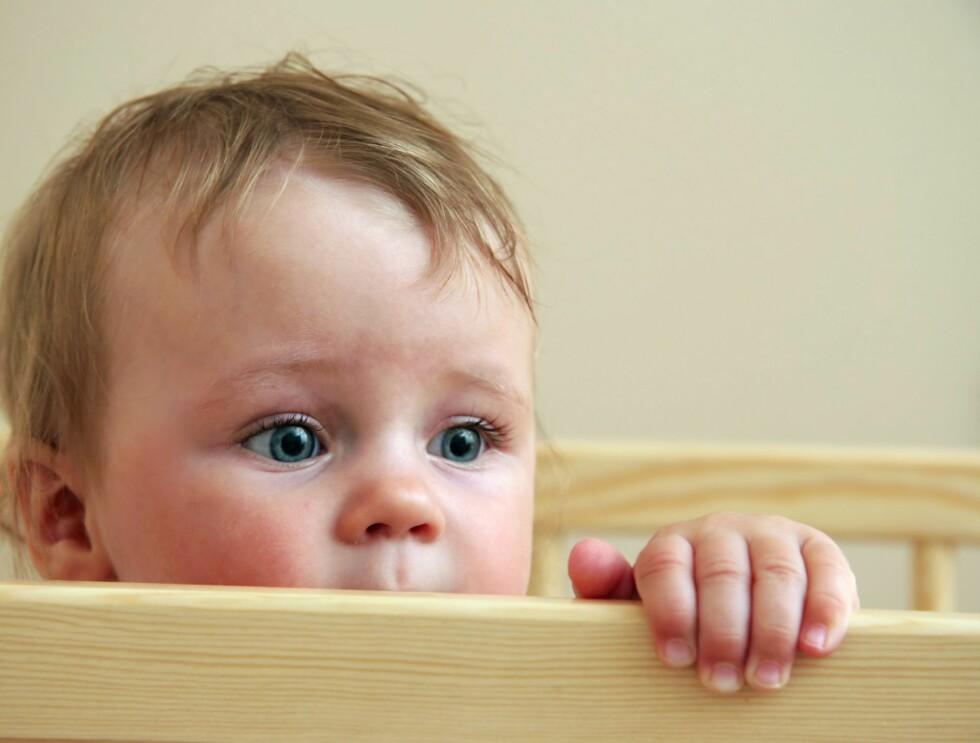 KAN SKILLE MELLOM GODT OG ONDT: Forskere på Yale´s Baby konkluderer med at babyer kan skille godt fra ondt. Foto: NTB/ Scanpix