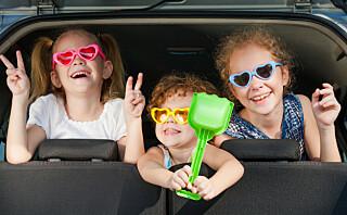 Hvordan sikre barna i bil i utlandet?