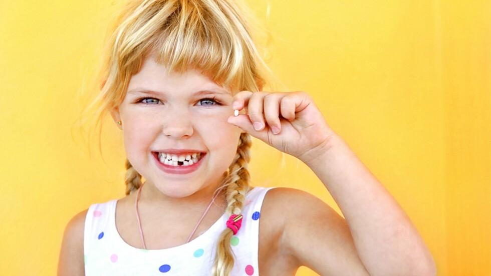 NÅR TANNFEEN KOMMER PÅ BESØK FOR FØRSTE GANG: I likhet med alle andre særdeles viktige yrker finnes det klare retningslinjer for tannfeer! Foto: NTB Scanpix