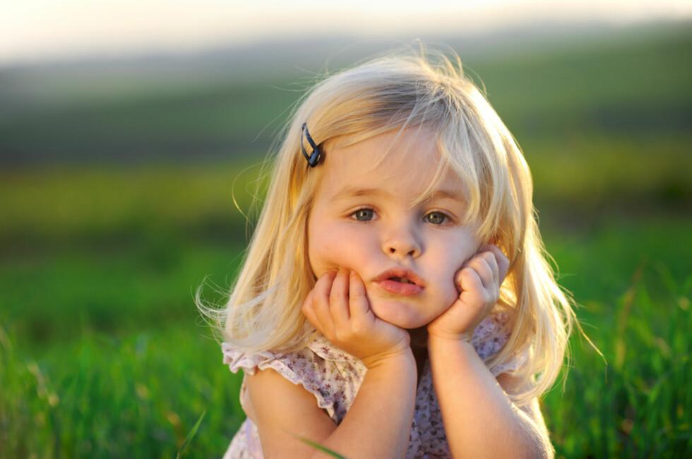 2-åringen: som en stormvind eller i solskinnshumør!  Foto: Shutterstock.com ©