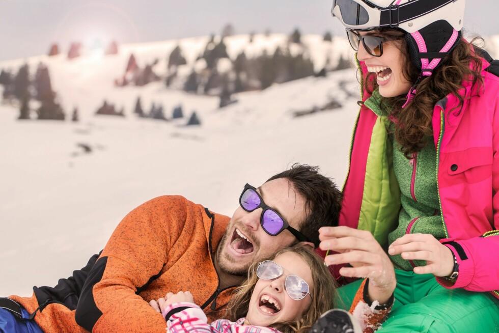 REISER TIL FJELLS: Daglig leder i Norgesbooking AS, Karina Nielsen kan fortelle at de har omtrent 15 prosent flere bookinger for februar enn hva de hadde på samme tid i fjor. Foto: NTB/ Scanpix