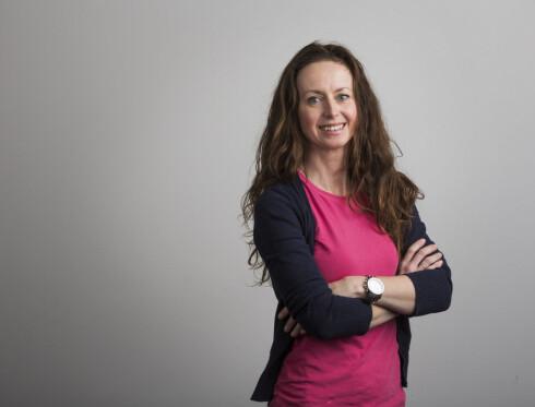 EKSPERT: Ernæringsfysiolog Lise von Krogh anbefaler fullamming til barnet er seks måneder. men det er ingenting i veien for å gi mat fra fire måneders alder dersom det trengs. FOTO: FRODE HANSEN/VG Foto: FOTO: FRODE HANSEN/VG