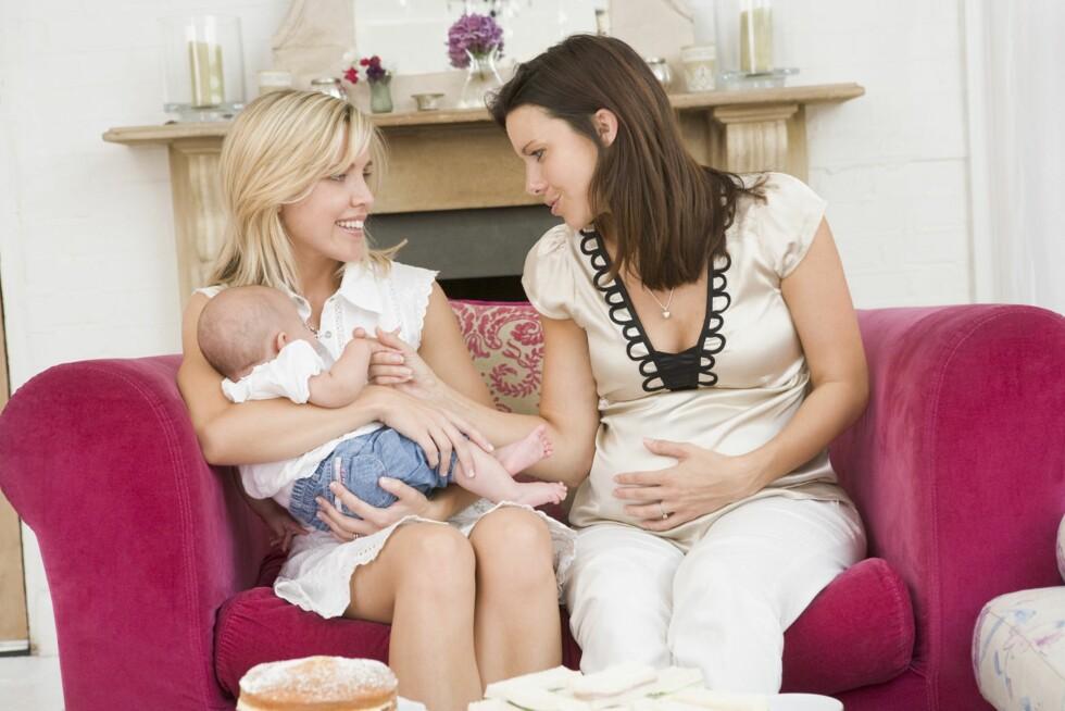KLAR: Det finnes ikke noe klart tegn på at du er klar for baby, mener ekspert. Foto: Scanpix
