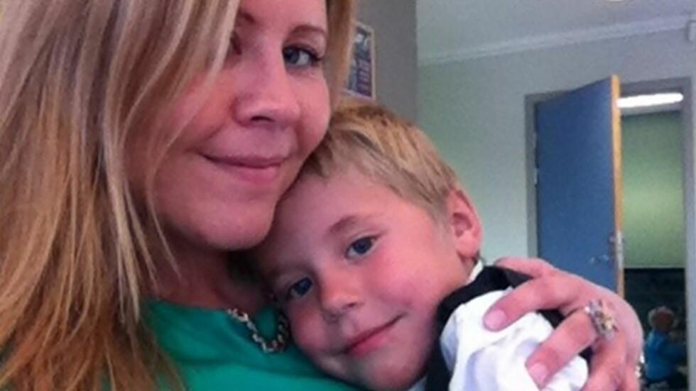 <strong><b>SLIK GIKK DET:</strong></b> Linn forteller om hvordan livet har vært for henne etter at hun mistet sin første sønn i krybbedød. Foto: Privat