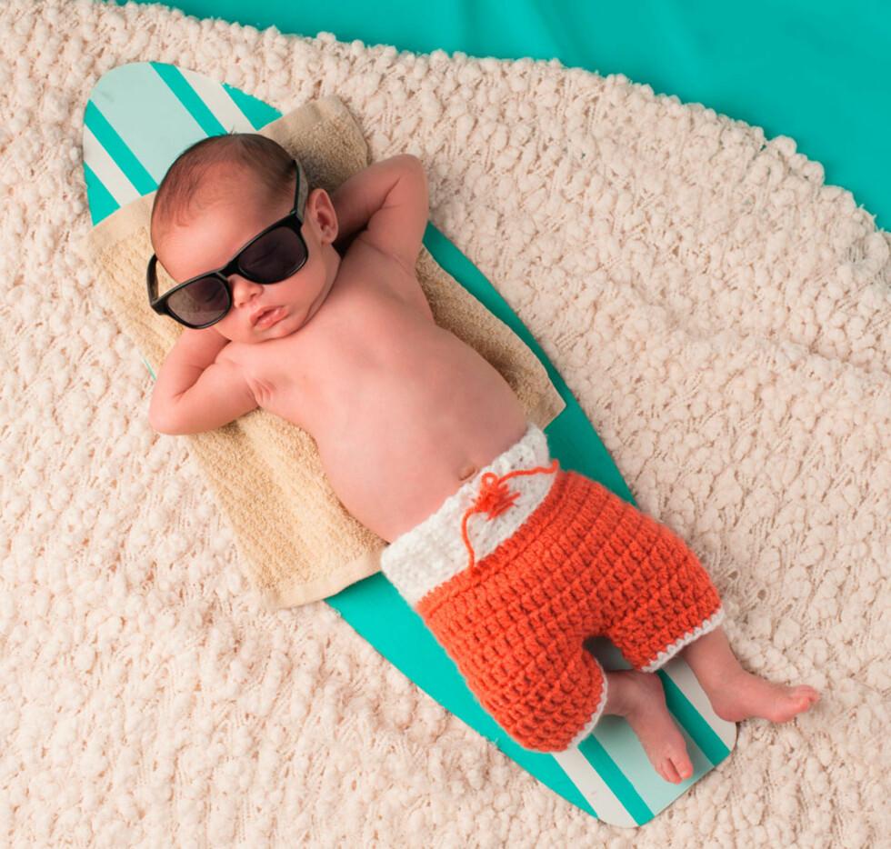 NYFØDT SOMMERBABY: Flest fødes i juni og juli. Foto: NTB scanpix
