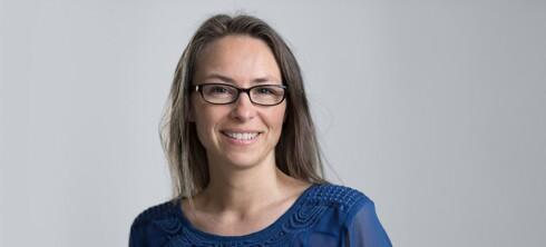 TERAPEUT: Søvnterapeut Caroline Lorentzen møter  ofte foreldre som sliter med barnas søvn. Foto: PRIVAT