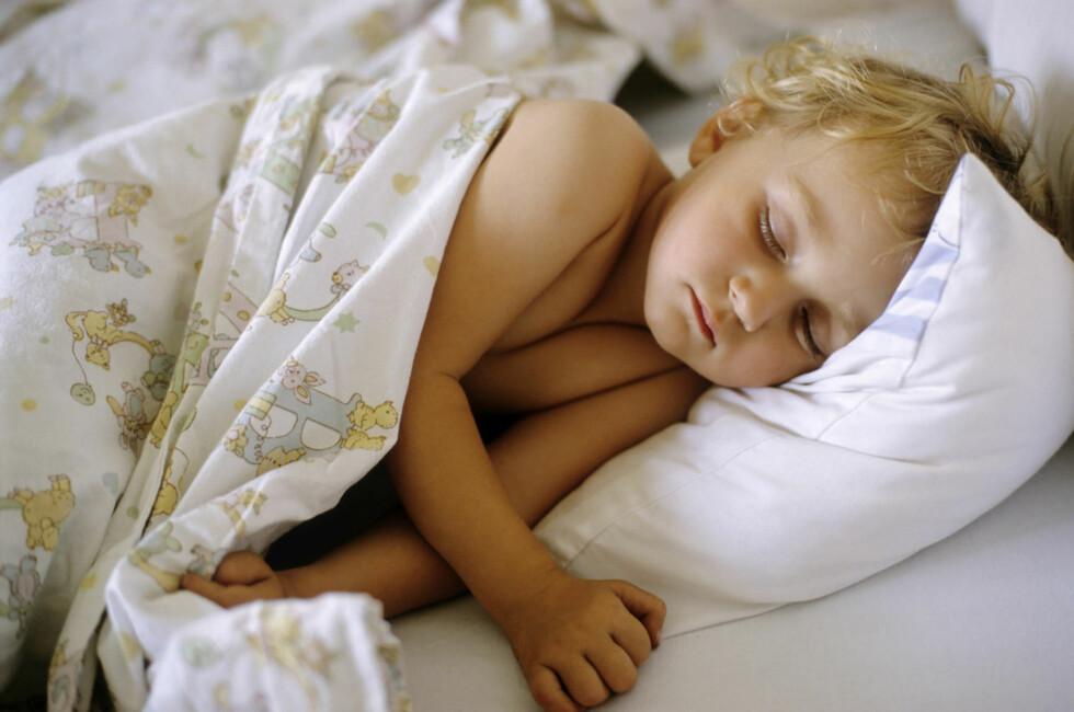 MYE NYTT: Når barnet begynner i barnehagen kan det påvirke søvnen - på godt og vondt.  Foto: NTB Scanpix/Sami Sarkis