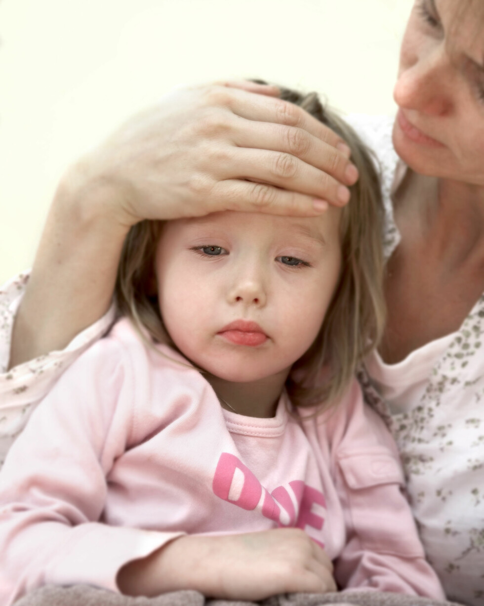 UNØDVENDIG MED ANTIBIOTIKA: Hos barn under 5 år er 70-90 prosent av alle luftveisinfeksjoner forårsaket av virus. Foto: NTB Scanpix/Berit Roald