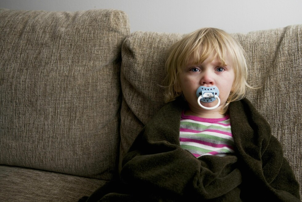 VIRUS: Som regel er barnets sykdom forårsaket av virus. Foto: NTB Scanpix
