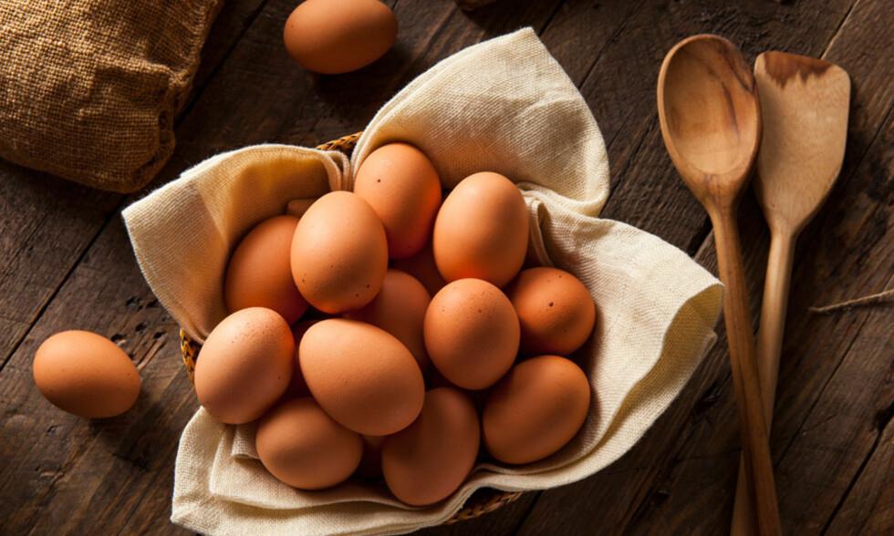 EGG: Norske egg er helt OK for gravide å spise. Foto: NTB scanpix
