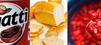 Disse matvarene bør ikke i nistepakken