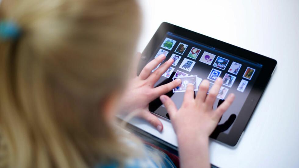 <strong><b>MER ENN TIDSFORDRIV:</strong></b> Appene som barnet lærer noe av. Foto: NTB scanpix