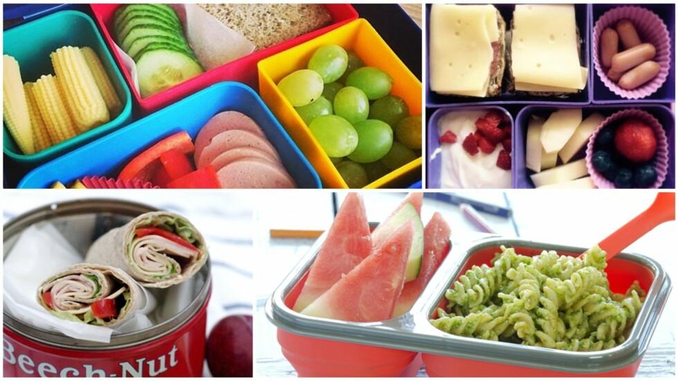 FRISTENDE MATPAKKER: Matpakker trenger ikke være kjedelige selv om de er enkle å lage! Foto: Privat