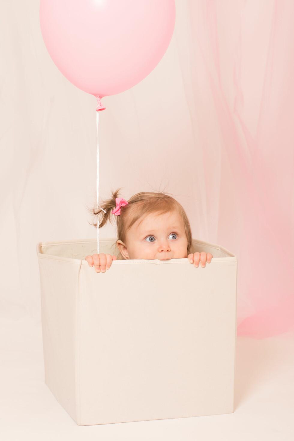 BRA SAMSPILL: Denne jenta sjarmerte fotografen med sine morsomme ord og uttrykk. Foto: Tom Sørheim / M&T fotografisk