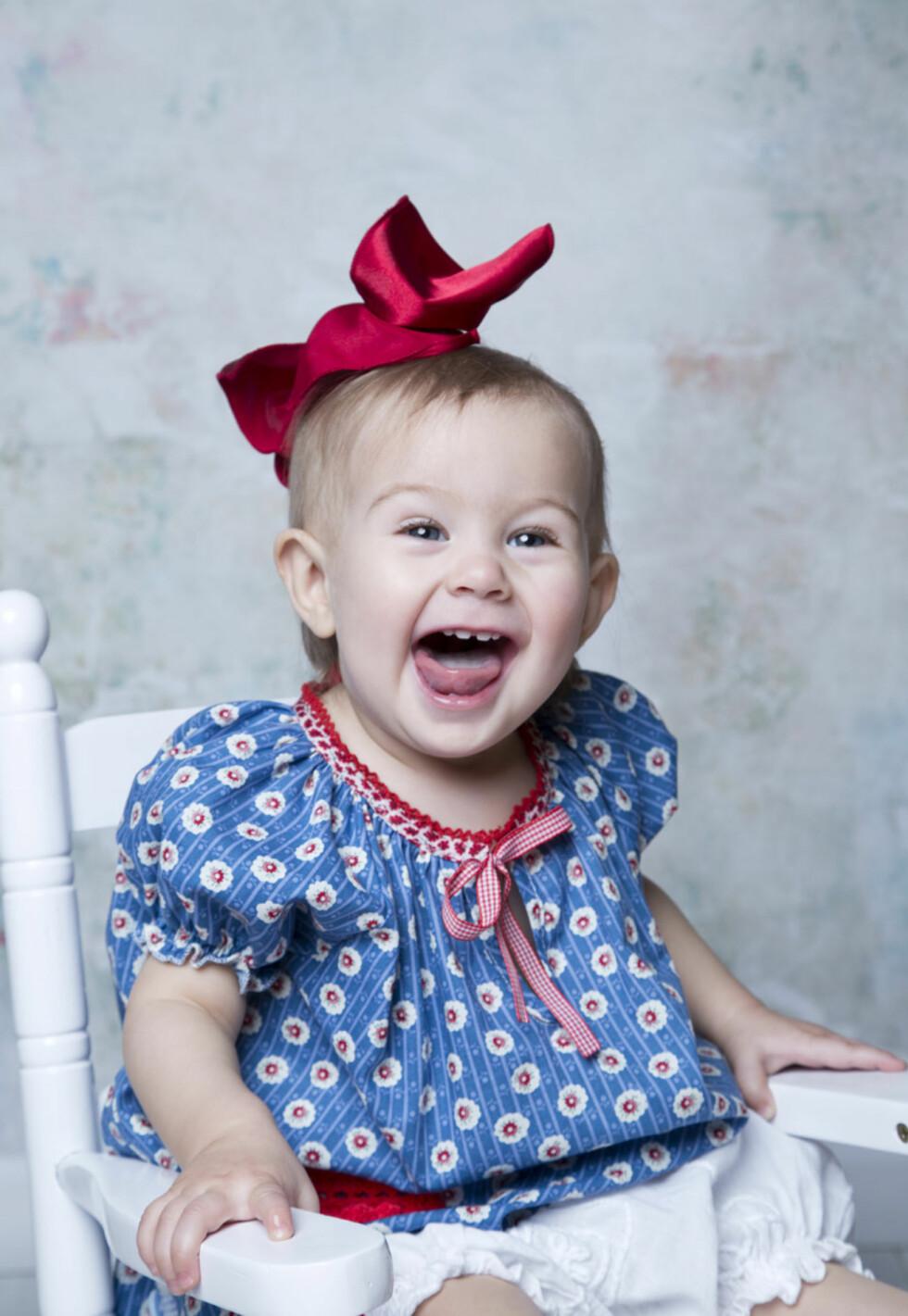 STORTRIVDES I FOTOSTUDIO: – Babyer er de beste kundene mine, sier Natalia. Foto: Fotograf Natalia Pipkina