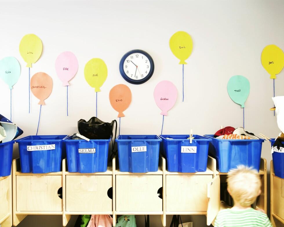 KAN FORT BLI KAOS: Mange foreldre ergrer seg over at barnas klær blir borte i barnehagen. Foto: NTB Scanpix