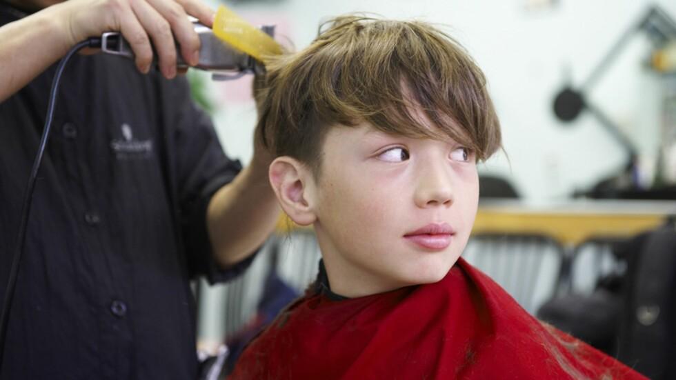 <strong><b>KAN BLI EN KOSTBAR AFFÆRE:</strong></b> Prisene på barneklipp varierer stort fra salong til salong. Foto: Brian Summers / NTB Scanpix