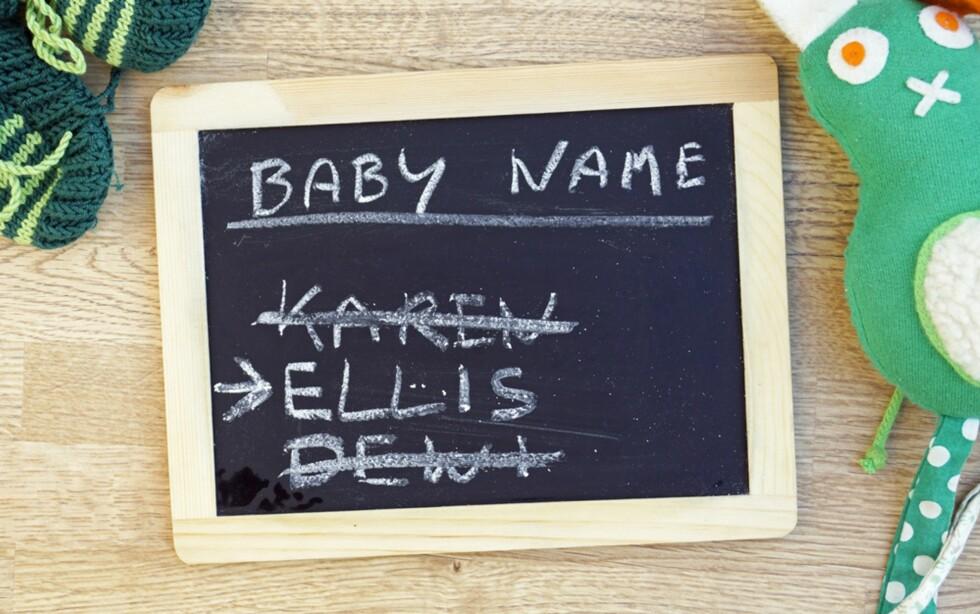 <strong>MER PÅLITELIG:</strong> Forsøkspersonene mente menneskene med enklere navn var mer troverdige enn de med vanskelig navn. Foto: Shutterstock
