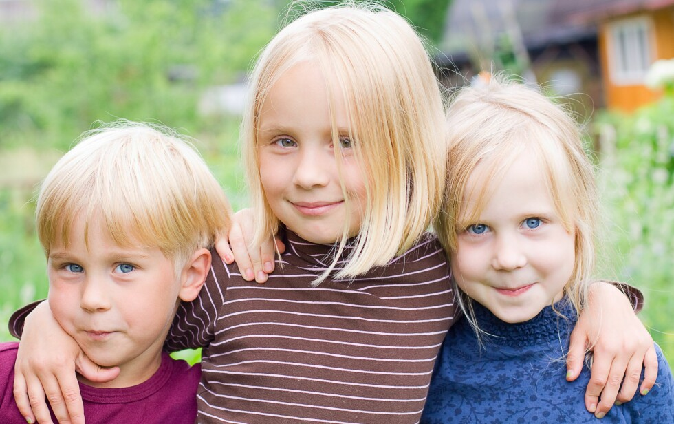 <strong>IDEELL ALDERSFORSKJELL MELLOM SØSKEN:</strong> Pedagogen Elisabeth Schönbeck mener man bør vente minst tre år. Foto: Colourbox