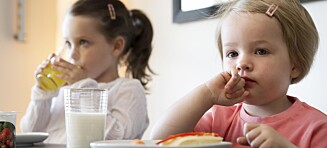 Advarer mot foreldres overfokus på mat og matregler