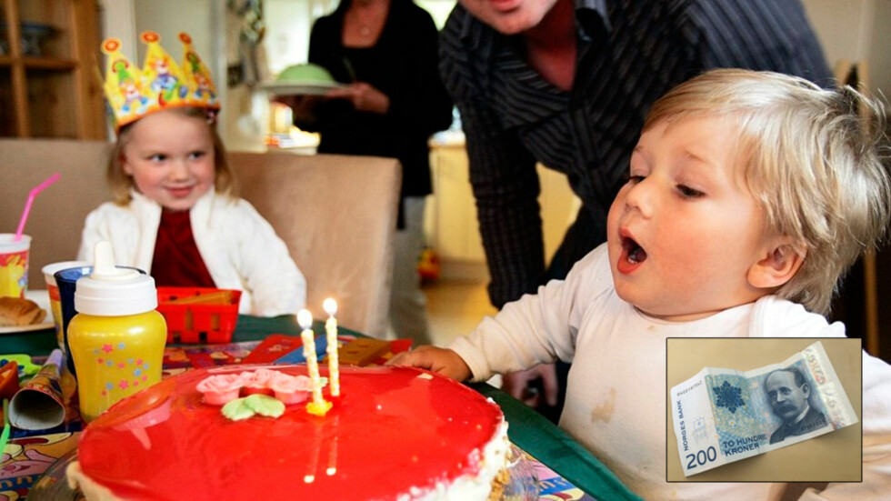 BARNEBURSDAG MED MÅTE:  - Foreldre trenger ikke å tømme kontoen for at ungene skal få en fin bursdagsfeiring, mener mødrene vi har snakket med. Foto: Lise Åserud / SCANPIX  Innfeldt: Mammanett