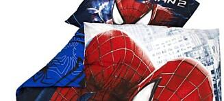 Jysk tilbakekaller Spiderman sengesett