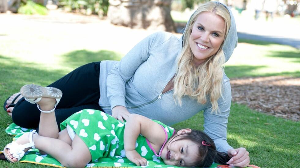 <strong><b>PENDLER MELLOM NORGE OG USA:</strong></b> Johannas datter går i barnehage i to land, men trives best i den norske. Foto: Meandi