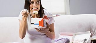 Svangerskapsdilla: Dette er vanlige cravings