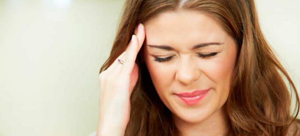 Migrene har noen spesielle symptomer som skiller seg fra hodepine. Foto: Shutterstock.com