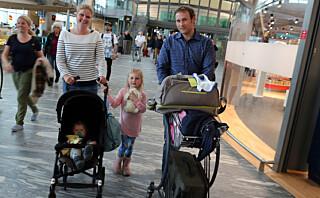 Nå kan du låne barnevogn på flyplassen