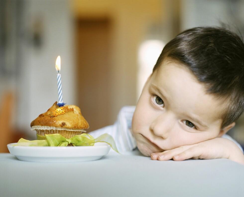 ALLE FORELDRES SKREKK: Ingen foreldre ønsker at barnet skal oppleve at gjestene ikke kommer i barnebursdagen. Foto: Brigitte Sporrer / NTB Scanpix