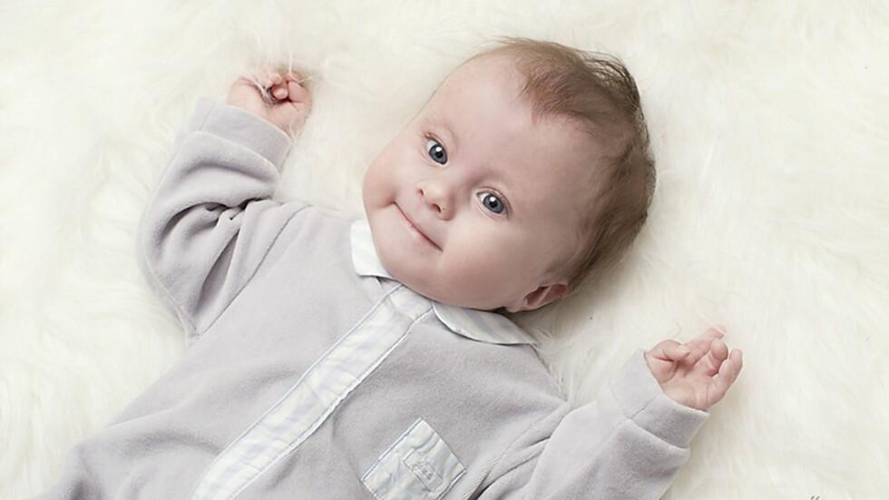 SJELDEN SYNDROM:  Ole Maximilian har diagnosen Trisomi 18, også kjent som Edwards syndrom. Foto: Marion Haslien / Haslien Fotografene
