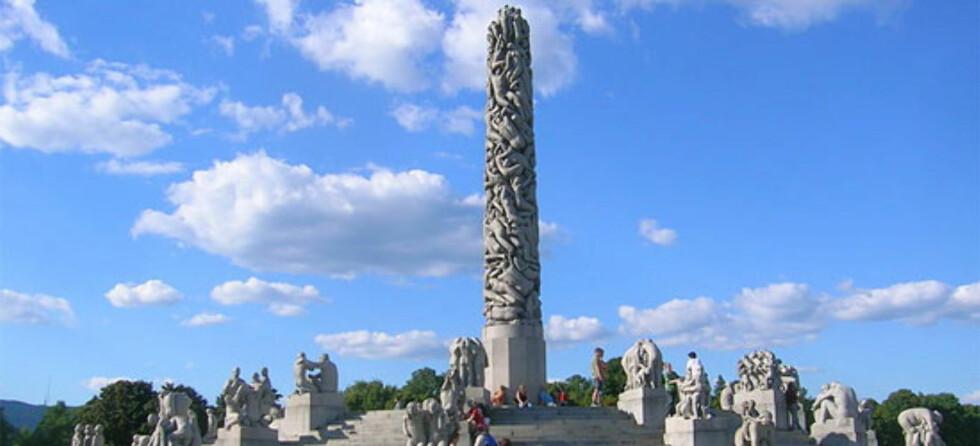 Monolitten i Vigelandsparken. Foto: Wikipedia