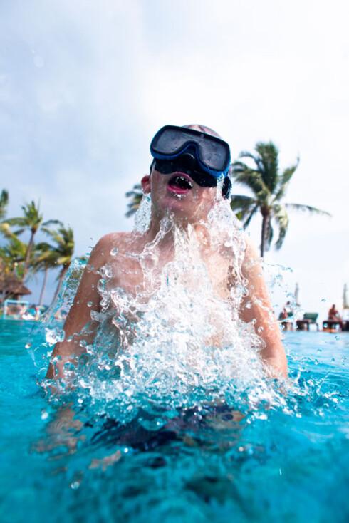 HAVNET UNDER VANN: Jenta havnet under vann. Først mange timer senere skjønte foreldrene at noe var galt. Foto: NTB Scanpix