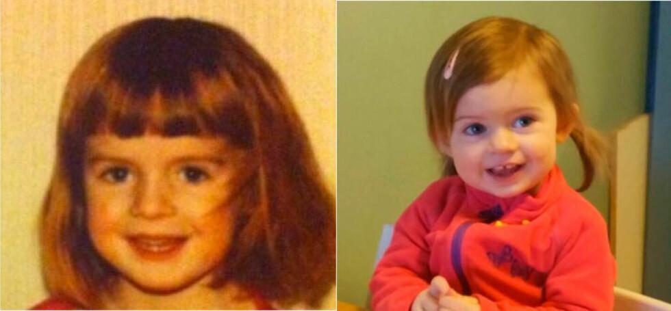 Camilla og Alva: Hvem er hvem? Foto: privat