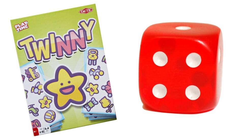 TWINNY: Et brettspill som krever konsentrasjon og et raskt blikk. Foto: Produsenten