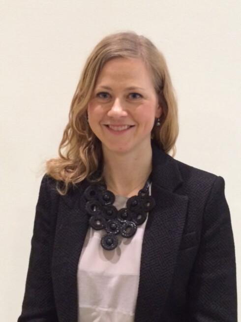 Overlege og spesialist i barnesykdommer Margrethe Greve-Isdahl Foto: fhi.no