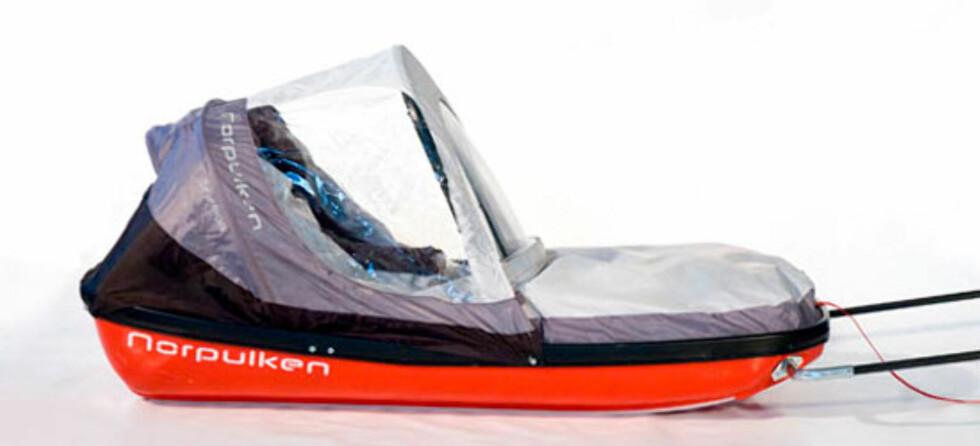Norpulken Barnepulk: En liten og praktisk barnepulk som får plass i skiboksen. Pris: 2990,- hos Felleskjøpet