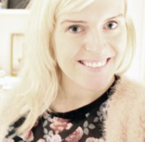 <strong>IKKE SÅ HØYTIDELIG:</strong> - Bloggen handler om hendelser som skjer nå som jeg ikke lengre er sjef over eget liv, sier Karoline. Foto: Privat