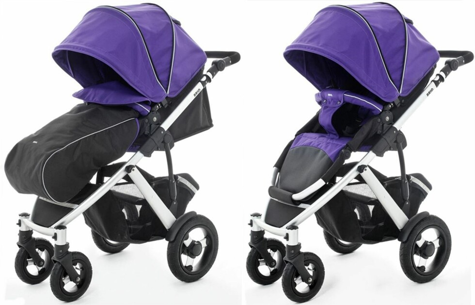 BRIO SMILE: Barnevognen har på kort tid blitt kjempepopulær blant norske foreldre. Pris fra kr 4499,- hos Babyshop.no Foto: Produsenten